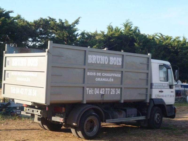 livraison de bois pour poele bois salon de provence